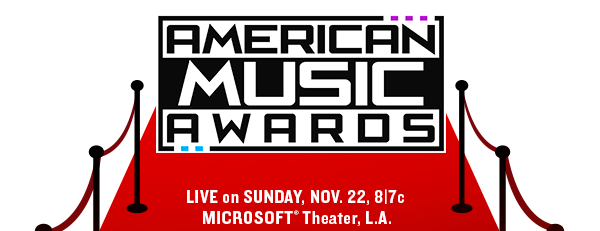 American Music Awards Live on Sunday, Nov. 22, 8/7c Microsoft (R) Theater, L.A.